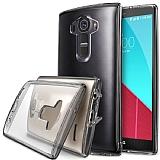 Ringke Fusion LG G4 Ultra Koruma Şeffaf Siyah Kılıf