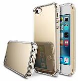 Ringke Fusion Mirror iPhone SE / 5 / 5S Ultra Koruma Gold Kılıf