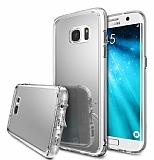 Ringke Fusion Mirror Samsung Galaxy S7 Edge Ultra Koruma Silver Kılıf