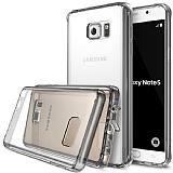 Ringke Fusion Samsung Galaxy Note 5 Ultra Koruma Şeffaf Siyah Kılıf