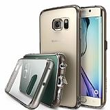 Ringke Fusion Samsung Galaxy S6 Ultra Koruma Şeffaf Siyah Siyah Kılıf
