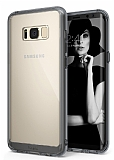 Ringke Fusion Samsung Galaxy S8 Plus Ultra Koruma Şeffaf Siyah Kılıf