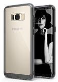 Ringke Fusion Samsung Galaxy S8 Ultra Koruma Şeffaf Siyah Kılıf