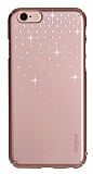 Ringke Noble Slim iPhone 6 Plus / 6S Plus Taşlı Rose Gold Rubber Kılıf