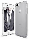 Ringke Slim Frost iPhone 7 Plus 360 Kenar Koruma Gri Rubber Kılıf