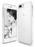 Ringke Slim Frost iPhone 7 Plus / 8 Plus Tam Kenar Koruma Beyaz Rubber Kılıf