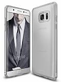 Ringke Slim Frost Samsung Galaxy Note 7 360 Kenar Koruma Gri Rubber K�l�f