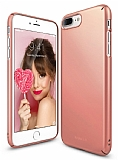 Ringke Slim iPhone 6 / 6S 360 Kenar Koruma Rose Gold Rubber K�l�f