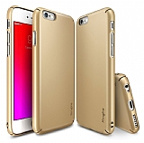 Ringke Slim iPhone 6 Plus / 6S Plus 360 Kenar Koruma Gold Rubber Kılıf