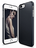 Ringke Slim iPhone 7 Plus / 8 Plus 360 Kenar Koruma Slate Metal Rubber Kılıf