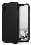 Ringke Slim iPhone X Tam Kenar Koruma Siyah Rubber Kılıf