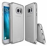 Ringke Slim Samsung Galaxy S7 360 Kenar Koruma Gri Rubber Kılıf