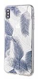 Roar Gel iPhone XS Max Lacivert Silikon Kılıf