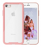 Roar Glassoul Airframe iPhone 7 / 8 Cam Rose Gold Kılıf