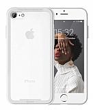 Roar Glassoul Airframe iPhone 7 / 8 Cam Beyaz Kılıf
