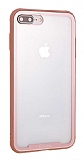 Roar Glassoul Airframe iPhone 7 Plus / 8 Plus Cam Rose Gold Kılıf