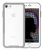 Roar Glassoul Airframe iPhone SE 2020 Cam Silver Kılıf