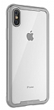 Roar Glassoul Airframe iPhone X / XS Cam Silver Kılıf