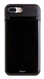 Roar iPhone 7 Plus / 8 Plus Aynalı Ultra Koruma Siyah Kılıf