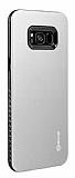 Roar Rico Hybrid Samsung Galaxy S8 Plus Ultra Koruma Gri Kılıf