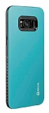 Roar Rico Hybrid Samsung Galaxy S8 Plus Ultra Koruma Mavi Kılıf