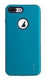 Roar Rico iPhone 7 Plus / 8 Plus Ultra Koruma Mavi Kılıf
