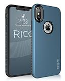 Roar Rico iPhone X / XS Ultra Koruma Lacivert Kılıf