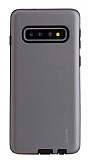 Roar Rico Samsung Galaxy S10 Plus Ultra Koruma Gri Kılıf
