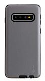 Roar Rico Samsung Galaxy S10 Ultra Koruma Gri Kılıf