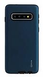 Roar Rico Samsung Galaxy S10 Ultra Koruma Lacivert Kılıf