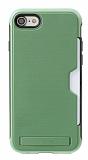 Roar Awesome Hybrid iPhone 6 / 6S Standlı Ultra Koruma Yeşil Kılıf