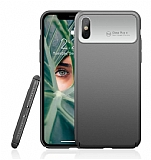 Roar Ultra-Air iPhone X / XS Silver Rubber Kılıf