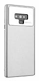 Roar Ultra-Air Samsung Galaxy Note 9 Silver Rubber Kılıf