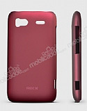 Rock HTC Sensation XE NakedShell Bordo Rubber Kılıf