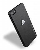 Rock iPhone SE / 5 / 5S Sert Parlak Rubber K�l�f