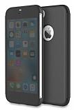 Rock iPhone 7 Manyetik Kapaklı Siyah Kılıf