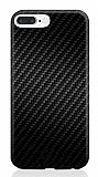 Rock Origin iPhone 7 Plus Karbon Siyah Silikon Kılıf