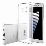 Rock Samsung Galaxy Note 7 Ultra İnce Şeffaf Silikon Kılıf