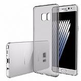 Rock Samsung Galaxy Note 7 Ultra İnce Şeffaf Siyah Silikon Kılıf