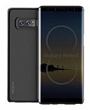Rock Samsung Galaxy Note 8 Dokunmatik Kapaklı Siyah Kılıf
