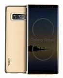 Rock Samsung Galaxy Note 8 Dokunmatik Kapaklı Gold Kılıf
