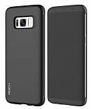 Rock Samsung Galaxy S8 Manyetik Kapaklı Siyah Kılıf