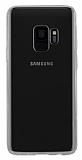 Rock Samsung Galaxy S9 Plus Şeffaf Siyah Silikon Kenarlı Rubber Kılıf