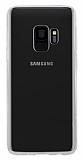 Rock Samsung Galaxy S9 Şeffaf Silikon Kenarlı Rubber Kılıf