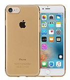 Rock Slim Jacket iPhone 7 �effaf Gold Silikon K�l�f