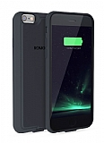 Romoss iPhone 6 / 6S 2000 mAh Dark Silver Bataryalı Kılıf