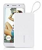 Romoss QS05 Series 5000 mAh Kablosuz Powerbank Beyaz Yedek Batarya