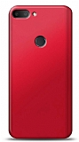 Alcatel 1s Kırmızı Mat Silikon Kılıf