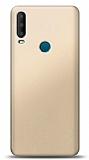 Alcatel 3x 2019 Gold Mat Silikon Kılıf
