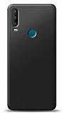 Alcatel 3x 2019 Siyah Mat Silikon Kılıf